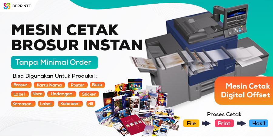 Hasil Cetakan Mesin Digital Printing A3