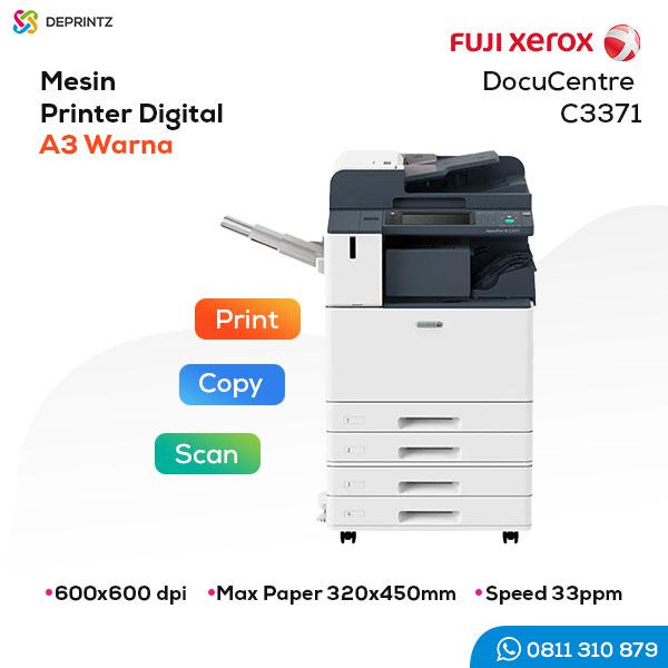 Jual Mesin PRINTER Warna A3 Fuji Xerox C3371