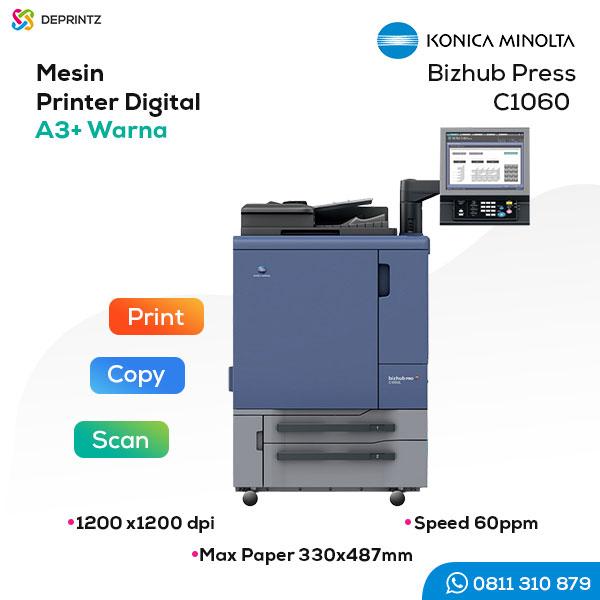 Jual Mesin Cetak Digital Offset A3+ KONICA MINOLTA C1060