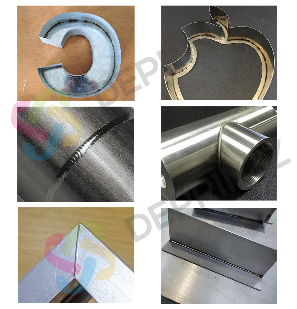 Contoh Hasil Mesin Laser Welding