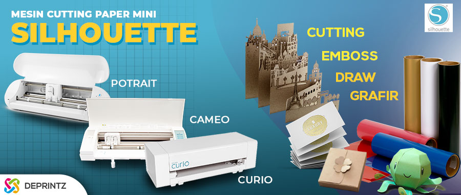 Mesin Cutting Plotter SILHOUETTE