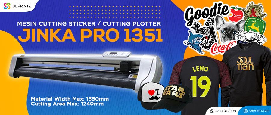 Harga Cutting Sticker Jinka PRO 1351