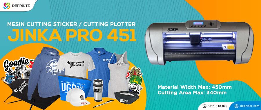 Harga Mesin Cutting Sticker Jinka Pro 451