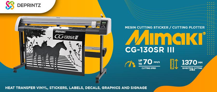 Harga Mesin Cutting Sticker MIMAKI CG130 SRIII