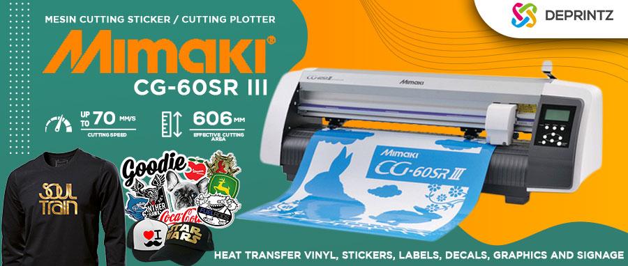 Harga Mesin Cutting Sticker MIMAKI CG60 SRIII