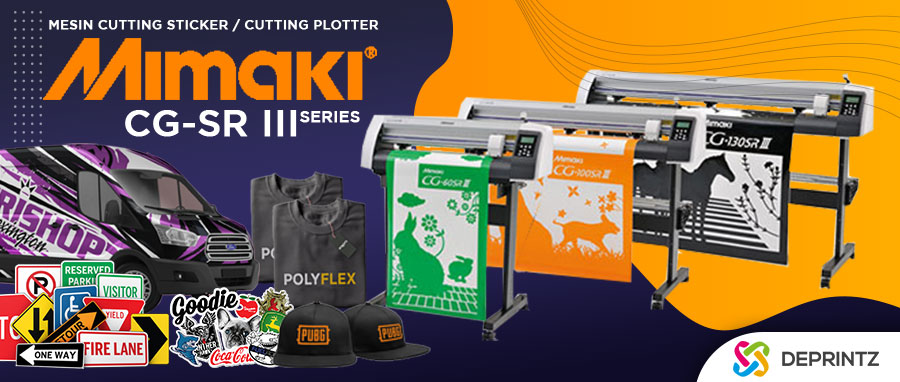 Jual Mesin Cutting Sticker Plotter MIMAKI Murah