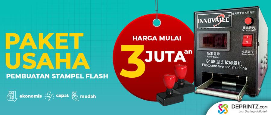 Paket Usaha Bisnis Jual Stempel Warna Flash Import Harga Murah