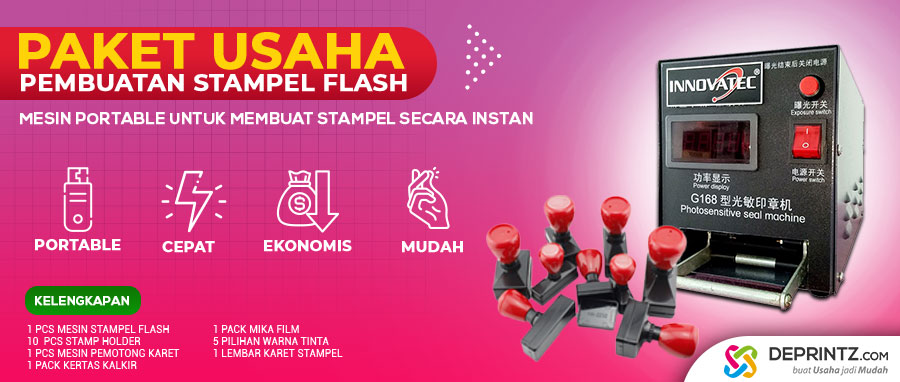 JUAL ALAT PEMBUAT STEMPEL FLASH WARNA IMPORT HARGA MURAH SURABAYA