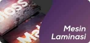 Supplier Mesin Finishing Laminasi Laminating Dingin Panas Roll