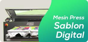 Sablon Digital Heat Hot Press Digital Otomatis