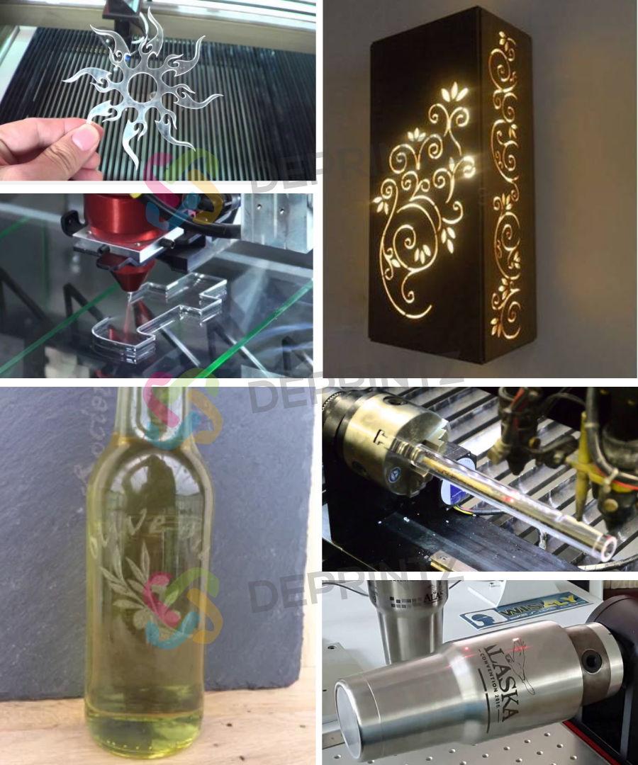 Hasil Mesin Laser Cutting Engraving Bai Sheng