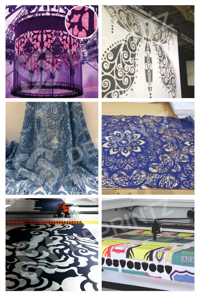 Hasil Produksi Laser Cutting Kain Textile