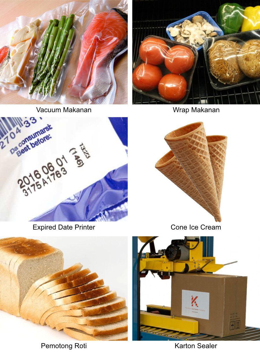 Hasil Produksi Mesin Makanan