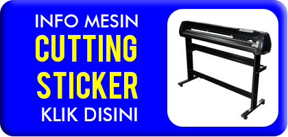Jual Mesin Cutting Sticker
