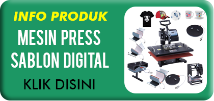 Jual Mesin Press Digital Sablon Murah