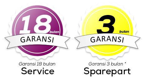 Garansi Service Sparepart