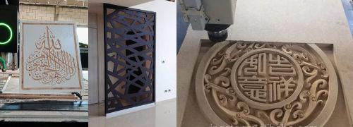 Industri Mesin CNC Router Gravir Engraving